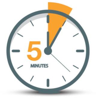 cinque minuti